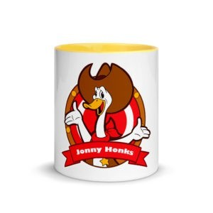 Jonny Honks Coloured Mug