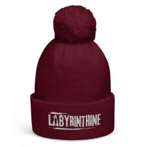 Labyrinthine Pom Pom Beanie